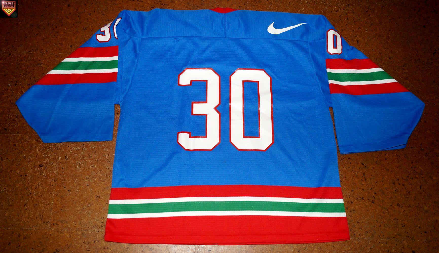 New Jersey Devils   97 99   No. 36   Colin White   red away pre-season    medium wear   LOA 105516  1b593e21e